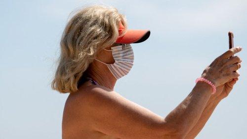 Porter un masque à l'extérieur ne sert à rien