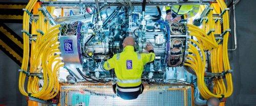 Rolls-Royce teste un générateur de 2,5 MW pour de futurs avions hybrides