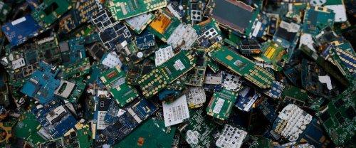 Un iPad détruit pour deux transactions: la cryptomonnaie crée une montagne de e-déchets