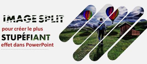 Divisez l'image en plusieurs morceaux pour créer l'effet le plus époustouflant dans PowerPoint