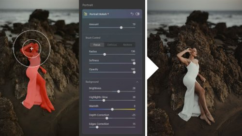 Add Bokeh to Your Portraits Using Skylum's Luminar AI