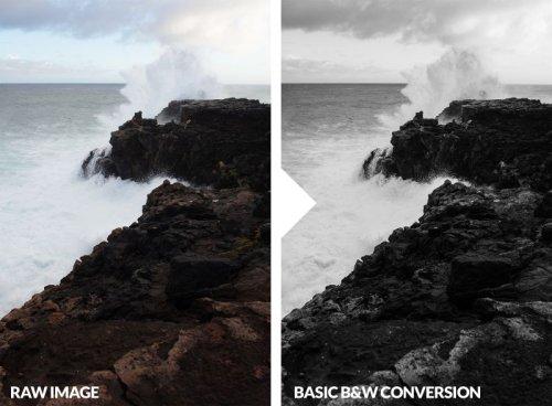 How to Edit Black and White Landscape Images in Adobe Lightroom