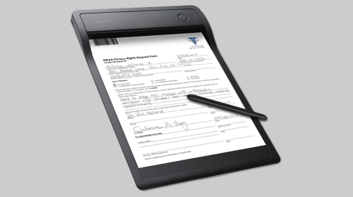 Wacom Clipboard Transforms Paper Documents into Digital in Real Time