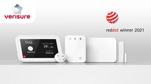 Verisure und Arlo gewinnen Red Dot Design Award 2021