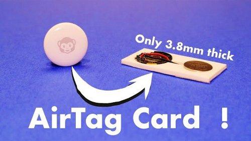 AirTag in der Brieftasche – YouTuber macht den AirTag halb so dick