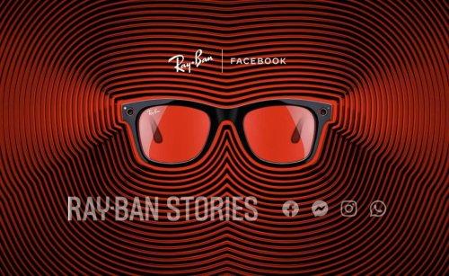 """Facebook verkündet in Zusammenarbeit die smarte Sonnenbrille """"Ray-Ban Stories"""""""