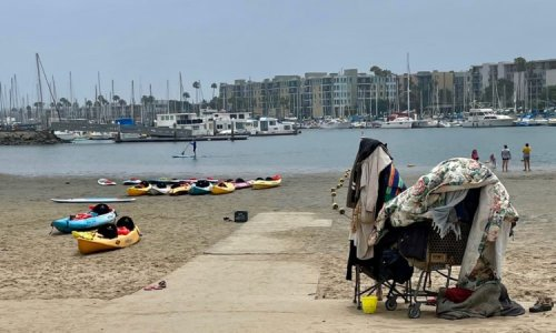 Marina businesses mount opposition to proposed homeless camping in Fisherman's Village