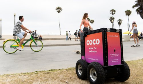 The future of food delivery is two-feet tall - Santa Monica Daily Press