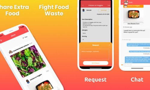 19-year-old Crossroads graduate launches app to fight food insecurity and waste