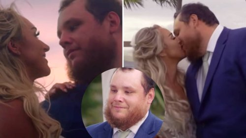 Luke Combs' real-life wedding-inspired video for 'Forever After All' is utterly beautiful
