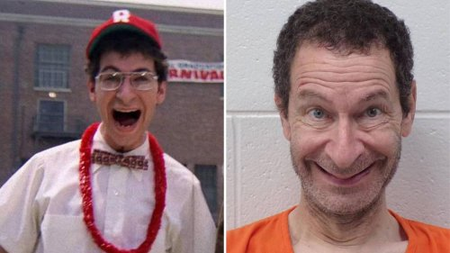 Grease actor Eddie Deezen is arrested after 'throwing plates at police' in restaurant