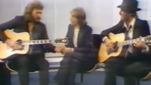 When Bee Gees gave a rare acoustic TV performance of 'Massachusetts' and brought down the house - video
