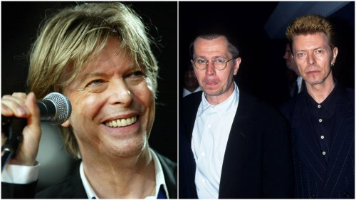 David Bowie's wicked dark humour revealed in last cancer battle letter to actor Gary Oldman - video