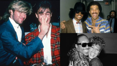 These 17 candid photos of '80s pop stars having fun together will take you right back in time