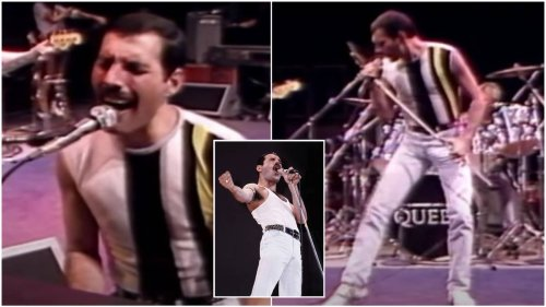 Queen rehearse for famous Live Aid set in sensational behind-the-scenes video
