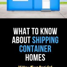 What to Know About Container Housing