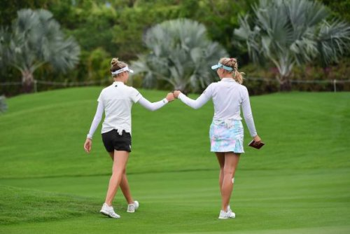 LPGA's Korda sisters talk quarantine habits and how they have fun with sibling competition