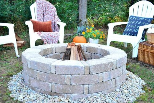 Build a Fire Pit in an Afternoon