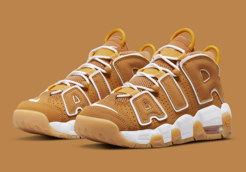 Nike Air More Uptempo 'Wheat' Official Images