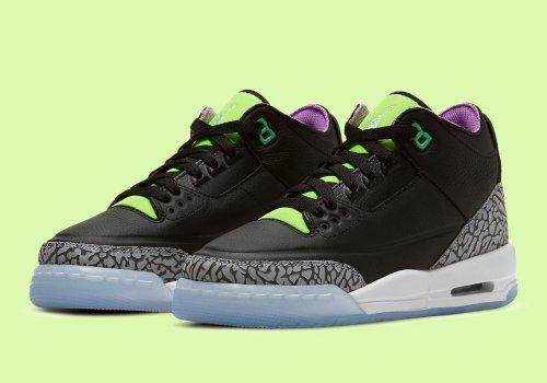 Air Jordan 3 'Violet Shock' Official Images