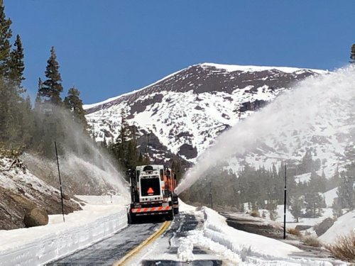 SR-108/Sonora Pass, CA Opens to Kennedy Meadows in Time For Fishmas