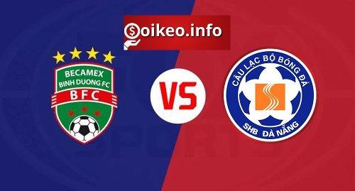 Kèo Bình Dương vs Đà Nẵng - 18/04/2021 - V-League