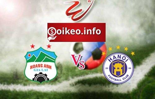 Kèo Hoàng Anh Gia Lai vs Hà Nội FC - 18/04/2021 - V-League
