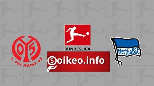 Kèo Mainz 05 vs Hertha Berlin - 18/04/2021 - VĐQG Đức