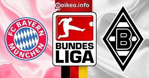 Kèo Bayern Munich vs Borussia M.Gladbach - 08/05/2021 - VĐQG Đức