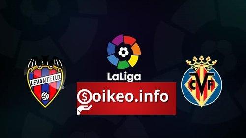Kèo Levante vs Villarreal - 19/04/2021 - VĐQG Tây Ban Nha