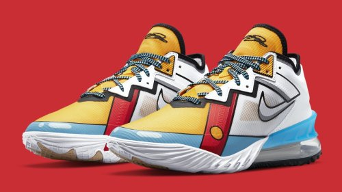 'Stewie Griffin' Nike LeBron 18 Lows Are On the Way