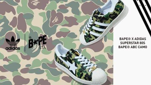 'Green Camo' Bape x Adidas Superstar Collab on the Way