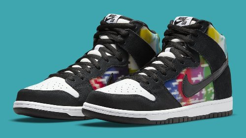 This Nike SB Dunk High Is Made for TV