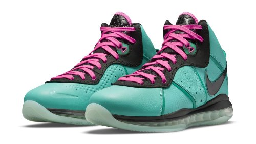 Official Look at the This Year's 'South Beach' Nike LeBron 8