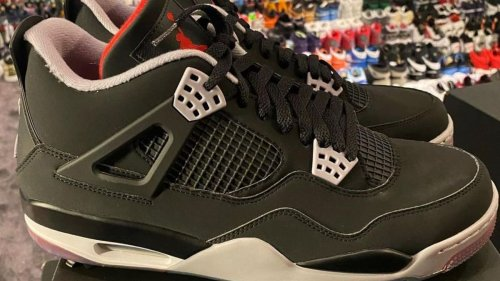 'Bred' Air Jordan 4 Releasing as a Golf Shoe