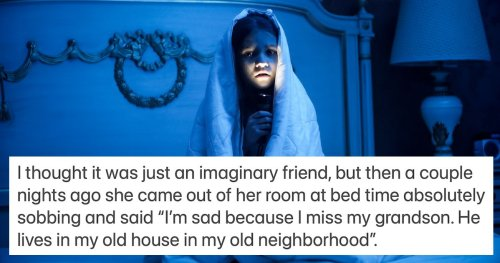 20 parents share the spookiest 'memory from a past life' their child has told them.