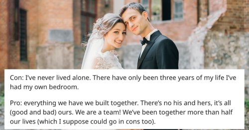 16 women who married in their early twenties share the pros and cons of marrying young.