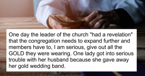 13 people who were raised in cults share the moment they realized what was going on.