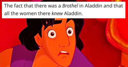 25 times adult jokes were hidden in plain sight in children's movies.