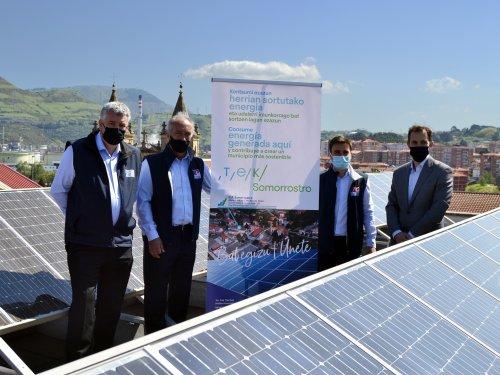 El Centro de Formación Somorrostro y Edinor lanzan la primera Comunidad Energética Escolar en Euskadi – Centro formación Somorrostro