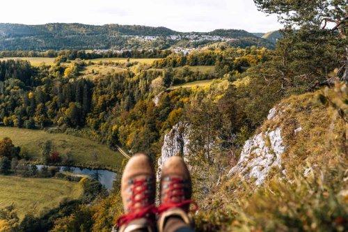 Oberes Donautal - Wandern, Radfahren & Schlafen im Holzfass