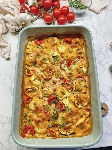 Ofen-Tortellini Rezept | Schnell gemacht in 20 Minuten