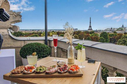 """Le rooftop confidentiel de l'Hôtel de Crillon, """"Bonsoir Paris"""""""