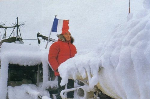 Jacques Yves Cousteau's mysterious expedition to Antarctica. What happened there?
