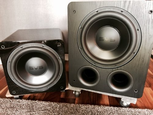 A Tale of Two SVS Subwoofers
