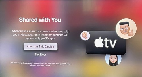 Hands On: Apple TVOS 15 Spatial Audio and Sharing