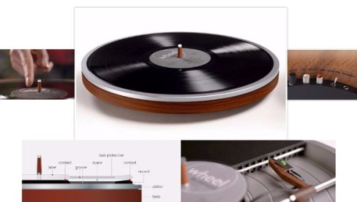 Crazy Upside-Down Turntable Spins its Way to Reality