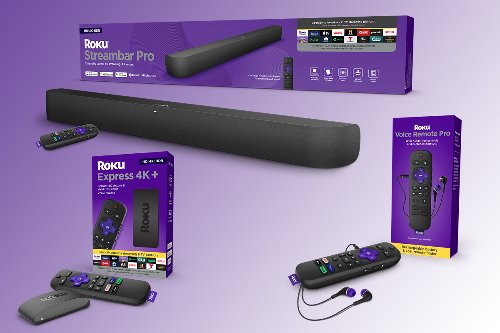 Roku's 2021 Line Includes Handsfree Remote, Express 4K+, and New Soundbar