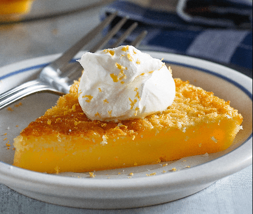 Impossible Lemon Pie Recipe