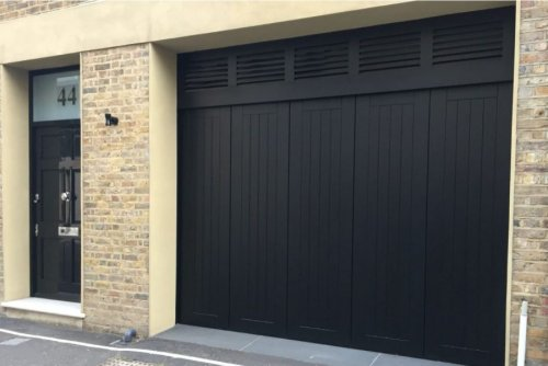 Fresh thinking for air flow in garages with ventilated doors